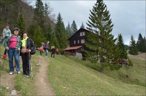 Turistický výlet na chatu pod Suchým (21.04.2014)
