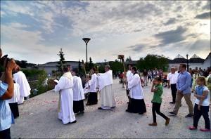 Svätá omša a procesia na sviatok Božieho Tela (19.06.2014)