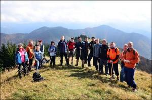 Farský turistický výlet na Lysec (11.10.2014)