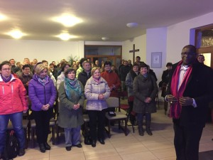 Návšteva biskupa Ludovicka Mindeho z Tanzánie (09.03.2015)