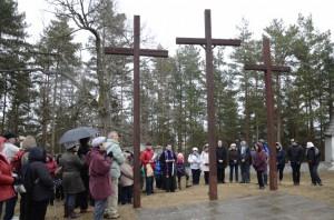 Krížová cesta a sv. omša v Kláštore pod Znievom (14.03.2015)