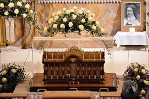 Relikvie sv. Terézie z Lisieux (21.01.2016)
