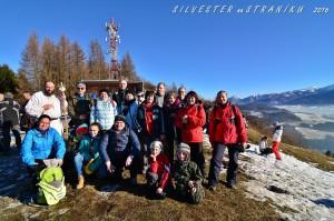 Silvestrovský výstup na Straník (31.12.2016)