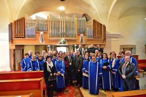 Sćhóla Sedembolestnej v Solčanoch na slávnostnej posviacke organu (11.3.2018)