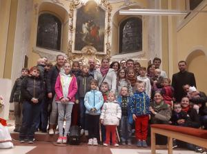 Návšteva rodín u bývalého pána dekana v Pruskom (09.11.2018)