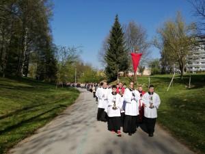 Pobožnosť Krížovej cesty na Veľký Piatok (19.4.2019)