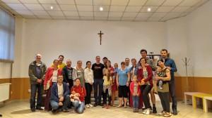 Rozlúčka rodín s p.kaplánom (26.6.2020)